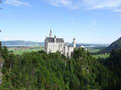 2017♪ドイツ~ロマンティック街道をゆく!~5日目午前はバスツアーで夢の城へ。