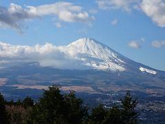 富士山を見ながらの  箱根  小田原城  焼津