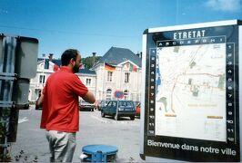1986年 初自由旅行でヨーロッパ周遊 3週間 2/10 :エトルタ、オンフルール、ドーヴィル、リジューほか