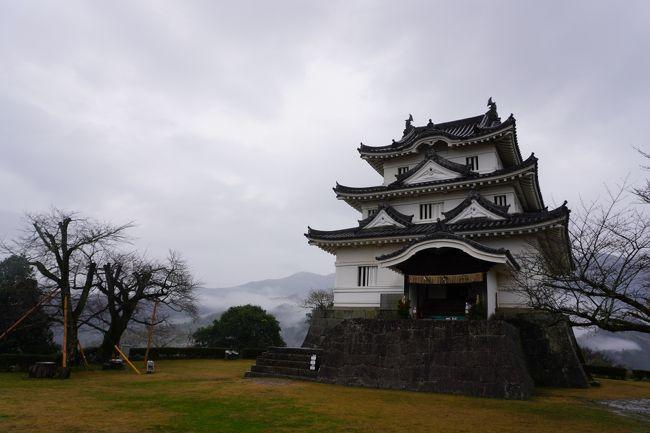 (6)日本100名城 83 宇和島城