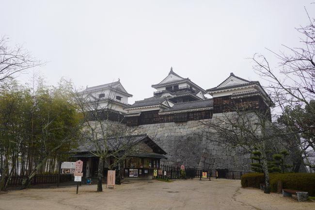 今年の年末は四国へ!<br />『四国グリーン紀行』という魔法の切符を使って、四国一周してきました。<br /><br />目的は城めぐり!<br />四国で日本100名城に選ばれているものは9つ。<br />その全てを見てきました。<br /><br /><br />2019冬 四国グリーン紀行で行く!四国まるっと城めぐり! その2<br />https://4travel.jp/travelogue/11581179