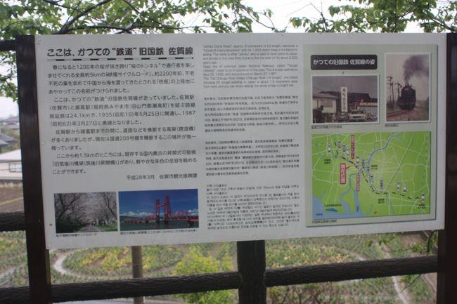 九州旅行記2019年春(10)佐賀線廃線跡巡り・諸富~南佐賀編