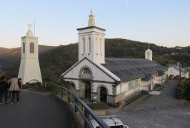 2019暮、福岡と長崎の名所巡り(3/23):12月8日(3):大村湾、新西海橋、大野教会堂、出津教会、西彼杵半島