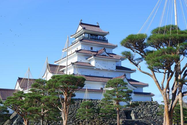 今年もよろしくお願いします!<br />新年最初のアップは年末の会津若松旅行です。<br />フォートラで会津若松の旅行記を拝見しているうちに、鶴ヶ城を見たい!と思ったのが切っ掛けです。<br />1年間頑張った自分へご褒美の旅ということで、ゆっくり目の癒やし旅。