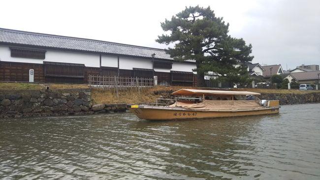 自分史上最長となる四日間のひとり旅に行ってきました!主に鉄道を利用した、最初から最後までそこそこハードな長旅でした!自分史上最大規模のひとり旅になります!<br />その1は一日目の前半の大阪観光について、その2は、一日目の後半、山陰へ移動しただけでした。<br />翌、二日目の午前には松江に行ってきました。<br />その3は松江での様子を紹介します!しかし、早速第一の試練が!?