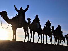 砂漠の中の砦をイメージしたホテルオーベルジュヤスミナに宿泊してサハラ砂漠で18年ぶり2度目の駱駝騎乗