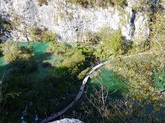 個人で行く、クロアチア等 4ヵ国周遊旅行 7.プリトヴィッツェ湖群散策