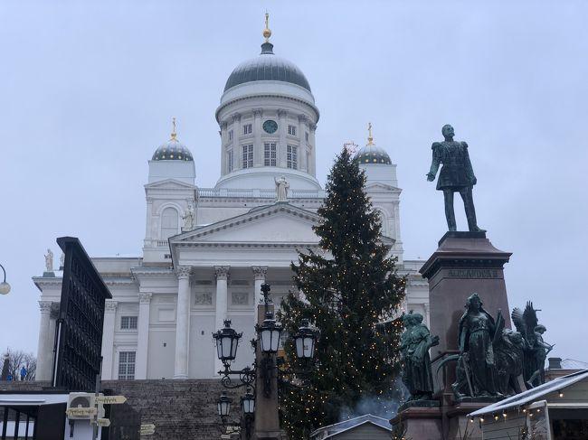 大好きなヘルシンキのクリスマス。寒さに負けず、観光、お食事楽しみます!