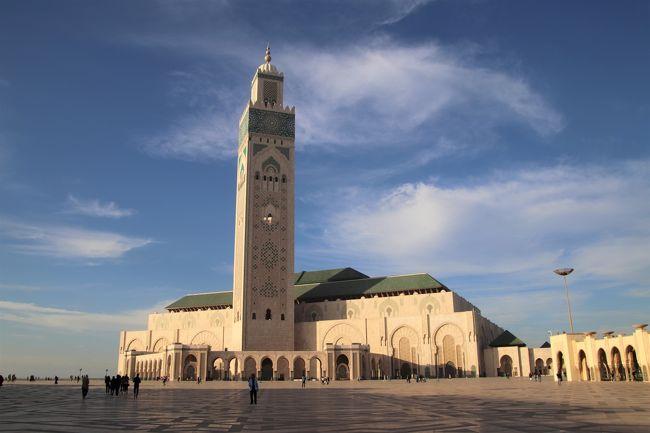 エキゾチック・モロッコ10日間 関西空港からドバイ経由でカサブランカへ おまけの帰国編もあります。