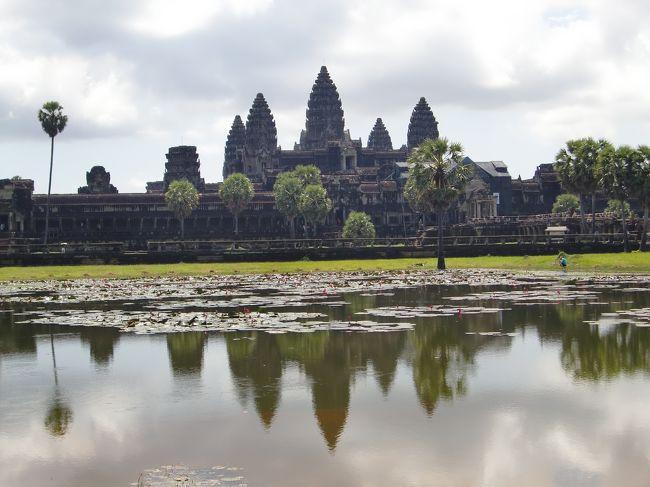 母とカンボジアツアー 1