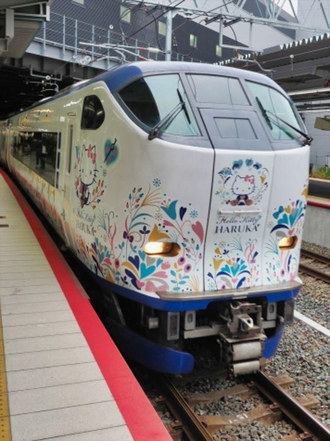 新大阪駅で降り新幹線から はるかに乗り換えて<br />関空に行くときは