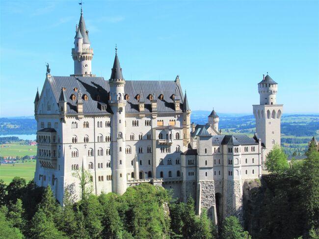 ドイツ周遊の旅⑫ 7日目:フュッセン・ノイシュヴァンシュタイン城・ヴィース巡礼教会