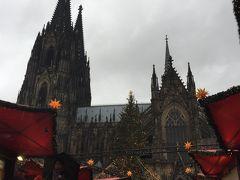 ドイツクリスマス 紀行 6日間  その1 ケルン&フランクフルト