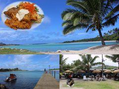 25周年記念 クック諸島 Day3-6(The Mooring Fish Cafeで遅めのランチ)