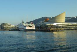 2019暮、福岡と長崎の名所巡り(5/23):12月9日(1):五島列島(1):長崎市内のホテル、長崎港、高速船で五島列島へ