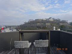 2019年末 岡山県津山市の新しいホテル ザ・シロヤマテラス津山別邸 に泊まる
