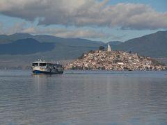 ビバ メヒコ モレーリアからパックアロ・ハニツォイ島へ行きました。