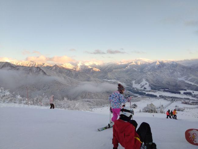 帰省がてら、新潟でスキー(2020年1月)~子供や初心者も安心★湯沢・岩原スキー場~