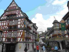 2019年8月 ドイツ木組みの家街道の町の一つ イトシュタインを歩く Idstein
