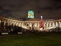 初めてのロシア&ヘンシンキ。冬のイルミネーションに輝く街めぐり。その�伊丹からサンクトペテルブルクへ