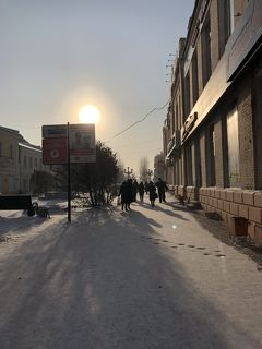年末年始はロシア①冬のシベリア イルクーツクからウランウデへ。
