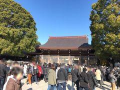 東京・明治神宮のお正月2020