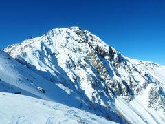 積雪期北岳 / 憧れの頂