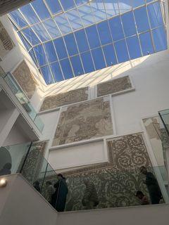 成田からドーハ経由でチュニジアへ 最初の観光地、バルドー博物館はやはり本当に素晴らしかった!!