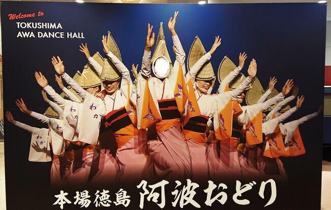 お正月に九州から羽田経由で徳島に行きました。<br />元旦はロイヤルパークホテル羽田に泊まって、国際線ターミナルを楽しみ(笑)…徳島では、大塚国際美術館や鳴門の渦潮、阿波おどり会館で、娘は初めての徳島旅を満喫しました~!