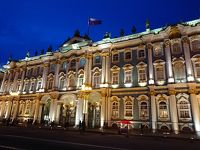 初めてのロシア&ヘンシンキ。冬のイルミネーションに輝く街めぐり。その�エルミタージュ美術館とマリインスキー劇場で初めてのバレエ