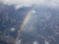 JL627便、羽田→熊本、搭乗メモ。今年は雨のスタート。