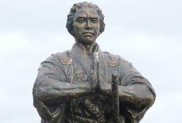 2019暮、福岡と長崎の名所巡り(9/23):12月9日(5):五島列島(5):頭ヶ島、祈りの龍馬像、海援隊の船座礁の地