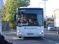 2019.10ハンガリー・ウイーン旅行5-満員の880番バスに乗りそびれる.センテンドレ旧市街を通り駅のバスターミナルからエステルゴムへ