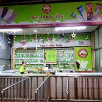 ベトナム ハノイ年末年始旅行その4 カオスなドンスアン市場見学と国民的アイスのお店