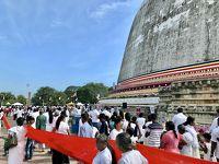 スリランカ旅行3日目 聖地アヌラーダプラ、 アヌラーダプラからポロンナルワへ