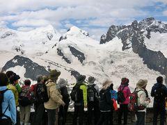 アルプス5大名峰と絶景列車の旅 11 ゴルナーグラート展望台から望むスイスアルプスの絶景