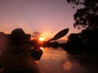 リバーランドの旅(3)マレー川でカヤッキング