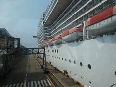 MSCスプレンディダ 上海横浜片道クルーズ1日目。乗船まで。上海に足をつけたのは何分間?