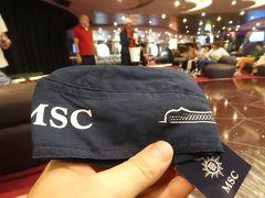 MSCスプレンディダ 上海横浜片道クルーズ3日目。雨の航海日。船内行事はてんこ盛り。