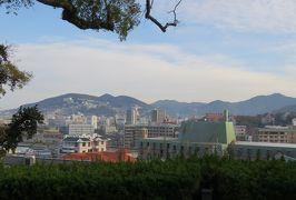 2019暮、福岡と長崎の名所巡り(14/23):12月10日(1):グラバー園(1):長崎市のホテル、大浦天主堂