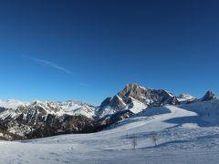 海外スキー イタリア ドロミティ サン・マルティーノ・ディ・カストロッツァでぼっち楽し~い!!