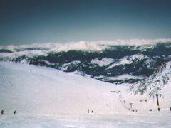 昔の話、カナダでスキー