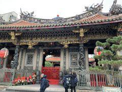 1泊6日 台湾貧乏旅行 台湾三日目・新年快楽編3(ホテルで荷物を預けて龍山寺)