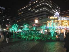 都営バスの旅ー4 上58系統 本駒込5丁目→上野松坂屋 *有楽町駅前 イルミネーション点灯