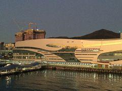 フェリーで入国、冬の釜山・大邱の旅 ①