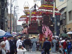 平成と令和に跨る世界遺産に登録の高岡御車山祭見物