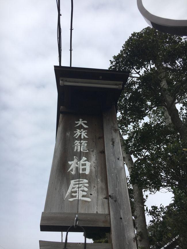 お正月に行けなかった夫の実家に行ってきました。<br />すぐ近所に東海道の岡部宿だった建物を資料館にしているところがあるので、見学しました。