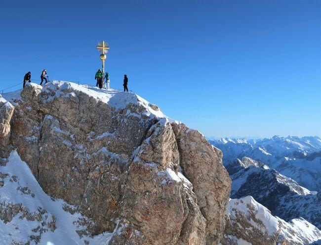 ドイツ Top of Germany(ガルミッシュ-パルテンキルヒェン・ツークシュピッツェ -Zugspitze-)