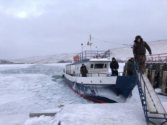 年末年始はロシア②冬のシベリア オルホン島1日目