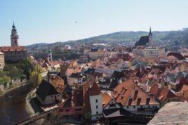 母とハイライト中欧5ヶ国周遊8日間(その3)《チェコ チェスキー・クルムロフ編》